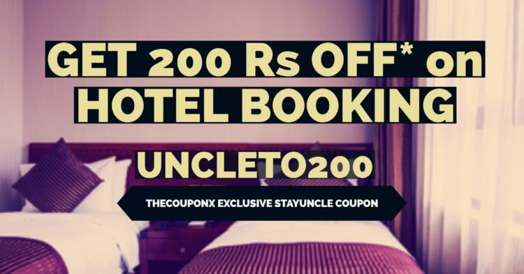StayUncle Coupons, StayUncle Vouchers, StayUncle Discount Deals & StayUncle Promotional Coupon Codes