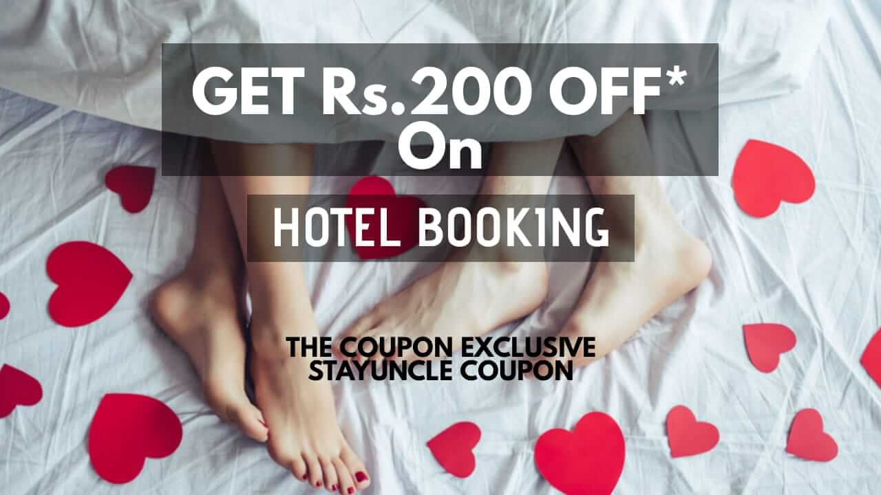 StayUncle Coupon - Get Flat Rs.200 OFF On Your All Hotel Booking