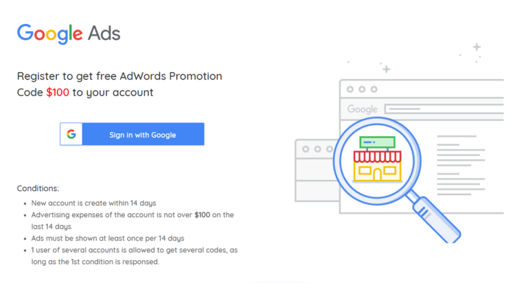 AdWords Coupon - Get Free $100 AdWords Coupon 2019